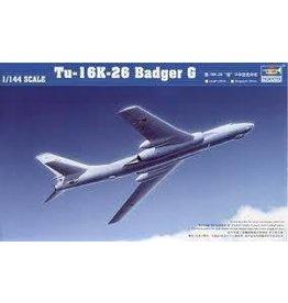 Grant and Bowman Trumpeter Tu 16K26 Badger G Soviet Bomber 1 144  Plastic Model Kit