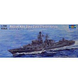 Grant and Bowman Russian Navy Slava Class Cruiser Varyag 1 700 Trumpeter Plastic Model Kit