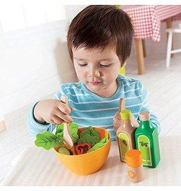 Hape International Hape Playfully Delicious Wood and Felt Garden Salad Play Food Set