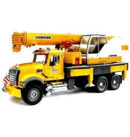 Bruder Bruder Mack Granite Crane Truck