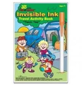 Lee Publications Invisible Ink Travel Activity Book Travel Time