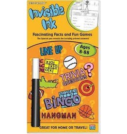 Lee Publications Invisible Ink Yes and Know Ages 8 to 88