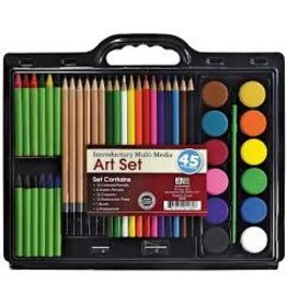 C2F Inc Art Advantage 45 Piece Art Set