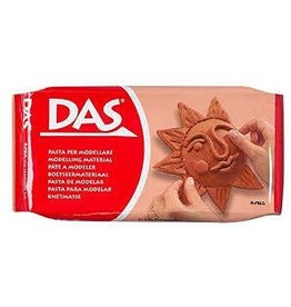 C2F Inc DAS Air Hardening Modeling Clay 2 point 2 Pound Block Terra Cotta Color