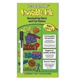 Lee Publications Invisible Ink Yes and Know 12 to 112