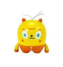 Little Kids DNR Little Kids Moji Mi Living Emoticons Figure Yellow