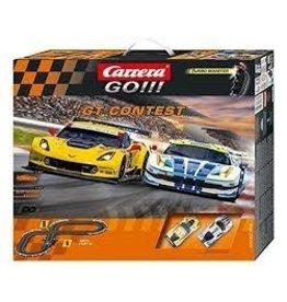 Carrera Carrera GO GT Contest 1 43 Scale Electric Slot Car Race Set