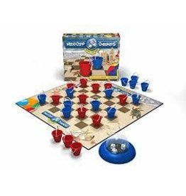 Mad Capp Games Madd Capp Checkers Beach Lovers Edition