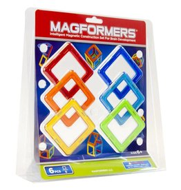 Magformers Magformers Square 6 Piece Set