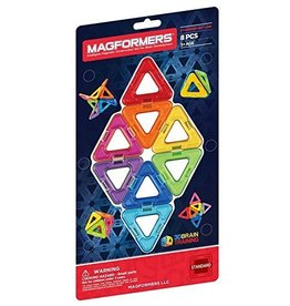Magformers Magformers Building Triangle Set 8 Piece
