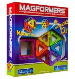 Magformers Magformers Rainbow 14 Piece Basic Set