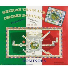 CHH Games CHH Games Double 15 Number Mexican Train Dominoes with 2 in 1 Hub