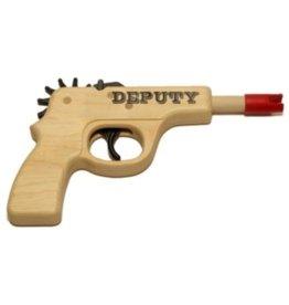 Magnum Enterprises Magnum Enterprises Deputy Pistol Rubber Band Gun Bagged