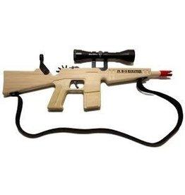 Magnum Enterprises Magnum Enterprises Junior M6 Marauder Rifle Rubber Band Gun