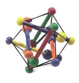 Manhattan Toy Manhattan Toy Skwish Classic Wooden Grasping Teething Rattle Toy