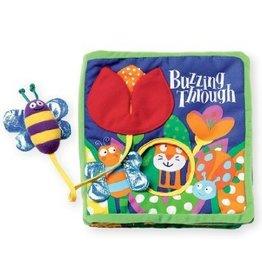 Manhattan Toy Manhattan Toy Soft Activity Book with Tethered Toy Buzzing Through