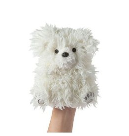 Manhattan Toy Manhattan Toy Fuzzy Loves Puppy Hand Puppet Plush