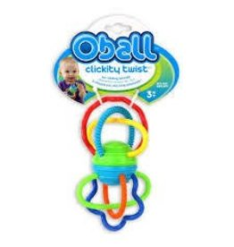Mary Meyer O Ball Clickity Twist Toy