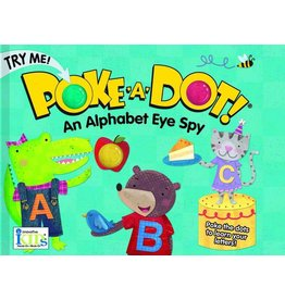 Innovative Kids Poke A Dot An Alphabet Eye Spy Hardback Book