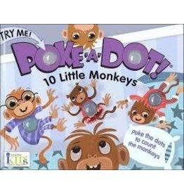 Innovative Kids Poke A Dot 10 Little Monkeys