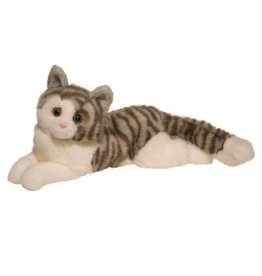 Douglas Toys Douglas Smokey Gray Cat Plush