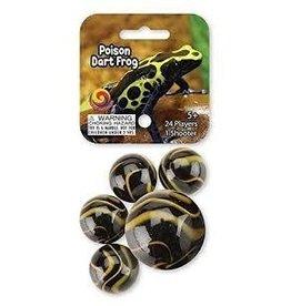 MegaFun USA Poison Dart Frog Marbles