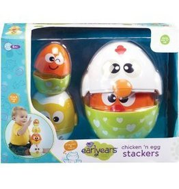 Epoch Everlasting Play Early Years Chicken and Egg Stacker Toy