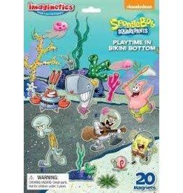 Epoch Everlasting Play DNR Imaginetics Spongebob Squarepants Playtime in Bikini Bottom Magnetic Play Scene