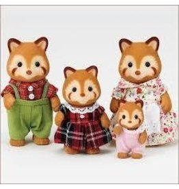 Epoch Everlasting Play Calico Critters Red Panda Family Toy