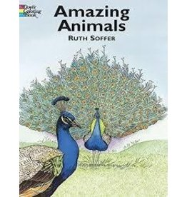 Dover Dover Amazing Animals Coloring Book