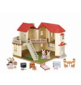 Epoch Everlasting Play Calico Critters Calico Cloverleaf Townhome Gift Set