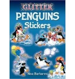 Dover Dover Glitter Penguin Mini Sticker Book