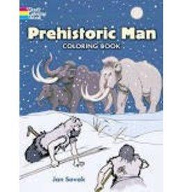 Dover Dover Prehistoric Man Coloring Book