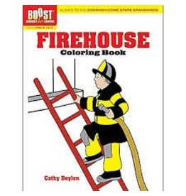 Dover Dover Boost Firehouse Coloring Book