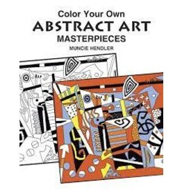 Dover Dover Color Your Own Masterpiece Art Book