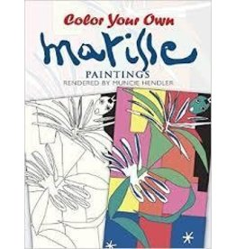Dover Dover Color Your Own Matisse Painting Book