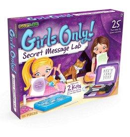 Hatchette Book Company Smart Lab Girls Only Secret Message Lab