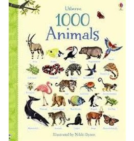 Educational Development Corporation Usborne 1000 Animals Board Book