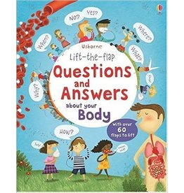 Educational Development Corporation Usborne Questions and Answers Body Book