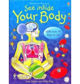 Educational Development Corporation Usborne See inside Your Body Book