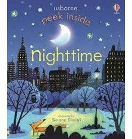 Educational Development Corporation Usborne Peek Inside Nighttime Book