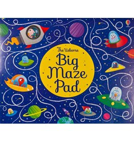 Educational Development Corporation Usborne Big Maze Pad
