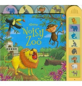 Educational Development Corporation Usborne Noisy Zoo Busy Sounds Board Book