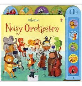 Educational Development Corporation Usborne Noisy Orchestra Sounds Book