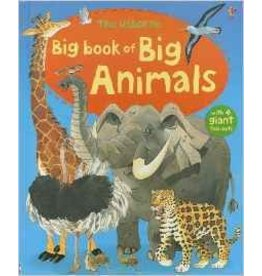 Educational Development Corporation Usborne Big Book Of Animals Hardback