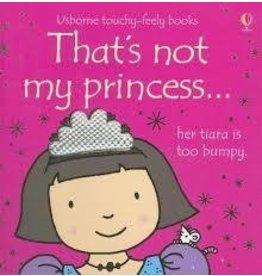 Educational Development Corporation Usborne Thats Not My Princess Book