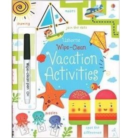 Educational Development Corporation Usborne Wipe Clean Vacation Activity Book