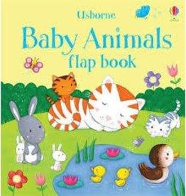 Educational Development Corporation Usborne Baby Animals Flap Book