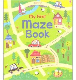 Educational Development Corporation Usborne My First Maze Book Soft Cover