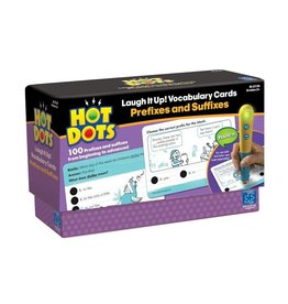 Educational Insights Hot Dots Prefixes and Suffixes